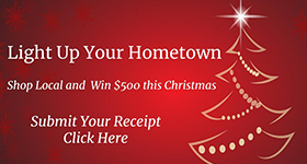 Light Up Your Hometown - Submit Receipts Here